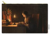 Reading By Candlelight Carry-all Pouch