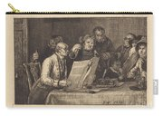 Reading The Will Carry-all Pouch