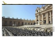Ready For Pope's Appearance Carry-all Pouch