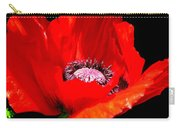 Red Poppy Photograph Carry-all Pouch