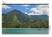 Ready To Sail In Hanalei Bay Carry-all Pouch