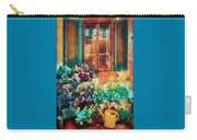 Ready To Water The Garden Oil Painting Carry-all Pouch