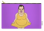 Real Candidates Of The Gop - Chris Christie - The Man-eater Carry-all Pouch