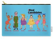 Real Candidates Of The Gop -clear Background Version 2 Carry-all Pouch