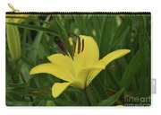 Really Beautiful Yellow Lily Growing In Nature Carry-all Pouch