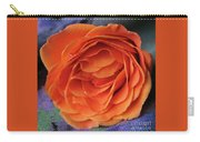 Really Orange Rose Carry-all Pouch