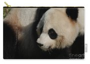 Really Up Close With The Face Of A Giant Panda Carry-all Pouch