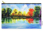 Realm Of Serene- Original Painting Carry-all Pouch
