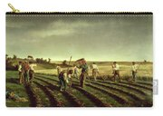 Reaping Sainfoin In Chambaudouin Carry-all Pouch by Pierre Edmond Alexandre Hedouin