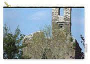 Rear View Fuerty Church And Cemetery Roscommon Ireland Carry-all Pouch