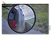 Rear View Mirror Of Alaska's Haul Road Carry-all Pouch