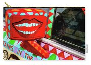 Rear View Mirror Of The Car-nola Carry-all Pouch