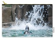 Rear View Penguin Carry-all Pouch