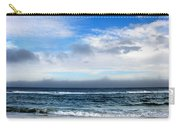Receding Fog Seascape Carry-all Pouch