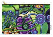 Reciprocal Liason Of The Sea II Carry-all Pouch by Genevieve Esson