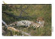 Reclining Cheetah 2 Carry-all Pouch