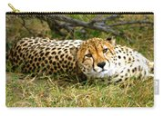 Reclining Cheetah Carry-all Pouch