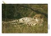 Reclining Cheetah Profile Carry-all Pouch