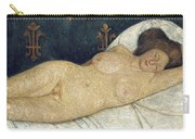 Reclining Female Nude Carry-all Pouch