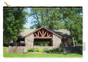 Recreation Shelter In Forest Park Carry-all Pouch