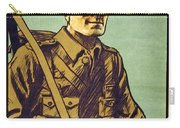 Recruitment Poster Follow Me Your Country Needs You Carry-all Pouch