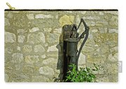 Rectory Mansion And Hand Pump - Brading Carry-all Pouch