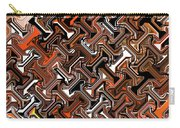 Recurring Pattern Abstract Carry-all Pouch