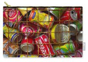 Recycling Cans Carry-all Pouch by Carlos Caetano