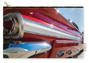 Red 1960 Chevy Low Rider Carry-all Pouch