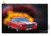 Red 1966 Mustang Fastback Carry-all Pouch