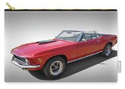 Red 1970 Mach 1 Mustang 351 Cleveland Carry-all Pouch