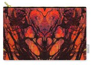 Red Abstract Art - Heart Matters - Sharon Cummings Carry-all Pouch