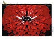 Red Abstract Flower One Carry-all Pouch