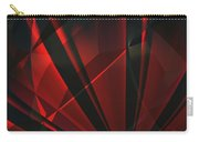 Red Abstractum Carry-all Pouch