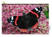 Red Admiral Butterfly Vanesa Atalanta Carry-all Pouch