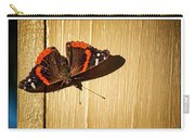 Red Admiral Carry-all Pouch