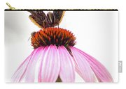 Red Admiral On Echinacea Carry-all Pouch