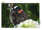 Red Admiral - Underside Carry-all Pouch
