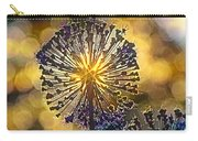 Red Allium Flower Carry-all Pouch