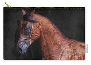 Red Ancient Horse No 01 Carry-all Pouch