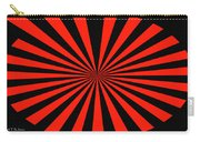 Red And Black Abstract #3 Carry-all Pouch