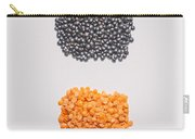 Red And Black Lentils Carry-all Pouch