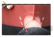 Red And Black Prow Carry-all Pouch
