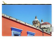 Red And Blue Colonial Architecture Carry-all Pouch