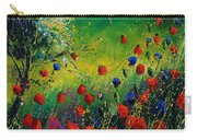 Red And Blue Poppies 67 1524 Carry-all Pouch