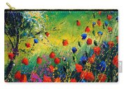 Red And Blue Poppies  Carry-all Pouch