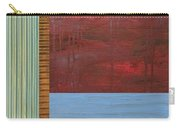 Red And Blue Study Carry-all Pouch by Michelle Calkins