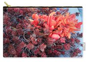Red And Burgundy Succulent Plants Carry-all Pouch