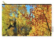 Red And Golden Aspens In Dillon Co Carry-all Pouch