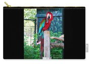 Red  And  Green Macaw         Zoo      Indiana Carry-all Pouch